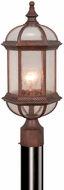 Vaxcel OP39785RBZ Chateau Traditional Royal Bronze Finish 19 Tall Exterior Post Lamp