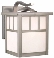 Vaxcel OW14673ST Mission Craftsman Stainless Steel Finish 9 Tall Exterior Wall Sconce Light