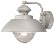 Vaxcel OW21513BN Harwich Nautical Brushed Nickel Finish 10.25 Tall Exterior Sconce Lighting