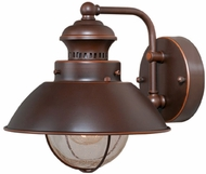 Vaxcel OW21581BBZ Harwich Nautical Burnished Bronze Finish 9.13 Wide Outdoor Light Sconce