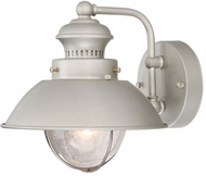 Vaxcel OW21593BN Harwich Nautical Brushed Nickel Finish 9.125 Wide Outdoor Lamp Sconce