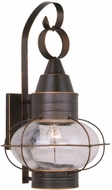 Vaxcel OW21831BBZ Chatham Nautical Burnished Bronze Finish 22.75 Tall Exterior Wall Sconce Lighting