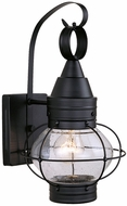 Vaxcel OW21881TB Chatham Nautical Textured Black Finish 13.5 Tall Exterior Wall Light Sconce