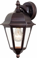 Vaxcel OW24283OBB Birchard Traditional Oil Burnished Bronze Finish 7.5  Wide Outdoor Sconce Lighting