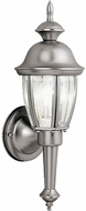 Vaxcel OW3112BN Capitol Brushed Nickel Outdoor Wall Lighting Sconce