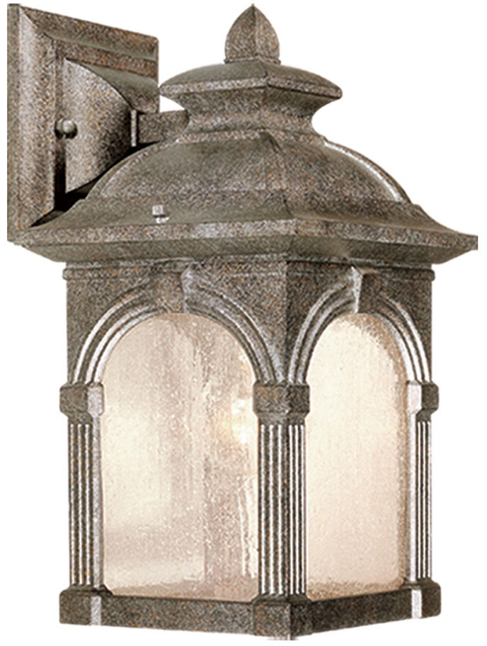 Vaxcel ow38773ls essex victorian lava stone finish 13 tall exterior lighting wall sconce vxl for Victorian style exterior lighting