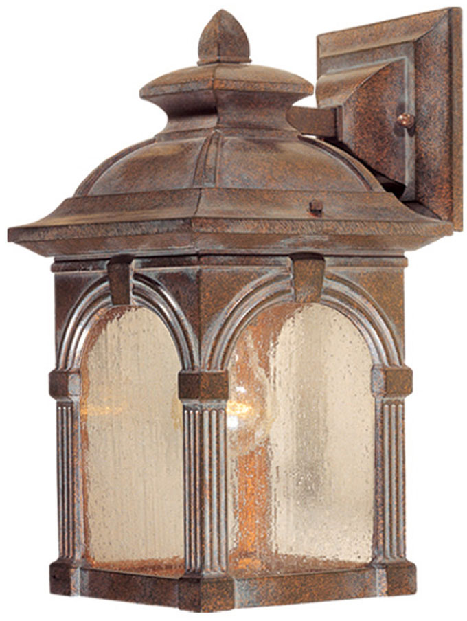 Vaxcel Ow38773rbz Essex Victorian Royal Bronze Finish 8 Wide Outdoor Wall Lighting Sconce Vxl