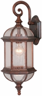 Vaxcel OW39782RBZ Chateau Traditional Royal Bronze Finish 8.5  Wide Outdoor Wall Lamp