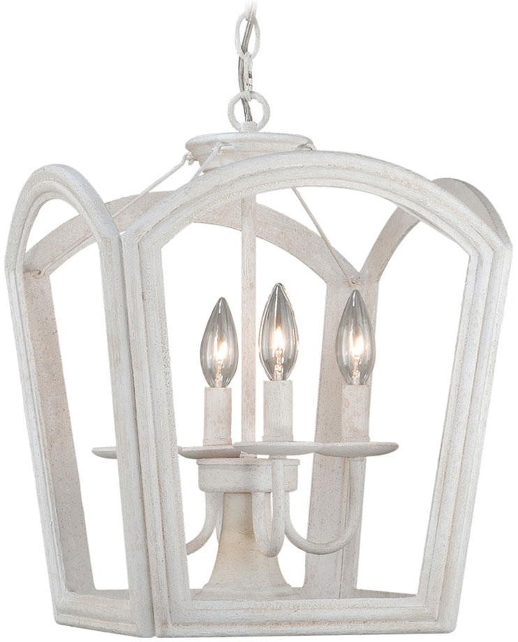Tall Foyer Lighting : Vaxcel p canterbury antique white finish quot tall
