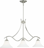 Vaxcel P0090 Cordoba Satin Nickel Island Lighting