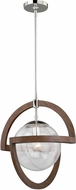 Vaxcel P0112 Mondial  Modern Polished Nickel Hanging Light