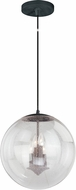 Vaxcel P0123 630 Series Contemporary Black Iron Foyer Lighting