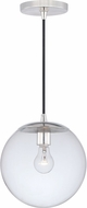 Vaxcel P0164 630 Series Contemporary Polished Nickel Mini Hanging Light