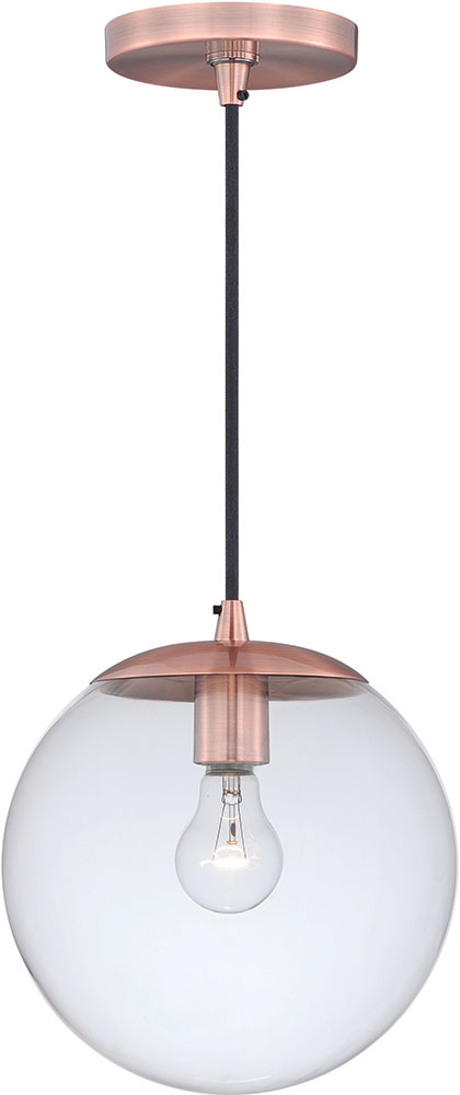 vaxcel p0165 630 series modern copper mini pendant light fixture loading zoom