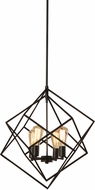 Vaxcel P0187 Rad Modern Warm Pewter Pendant Lighting