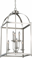 Vaxcel P0198 Juliet Satin Nickel Foyer Light Fixture