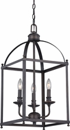 Vaxcel P0206 Juliet Architectural Bronze Foyer Lighting Fixture