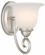 Vaxcel PA-VLU001BN Picasso Brushed Nickel Wall Lighting Fixture