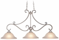Vaxcel PD35413BN Monrovia Brushed Nickel Kitchen Island Light Fixture
