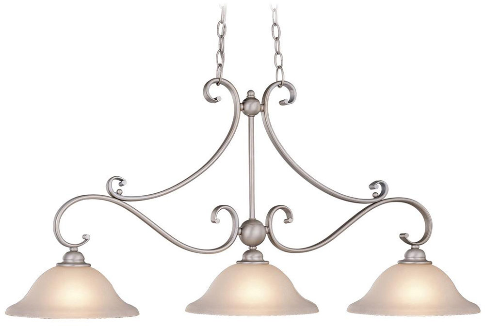 Awesome Vaxcel PD35413BN Monrovia Brushed Nickel Kitchen Island Light Fixture.  Loading Zoom