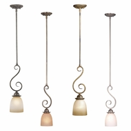 Vaxcel PD35906 Mont Blanc 5  Wide Mini Pendant Hanging Light