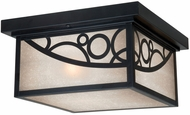 Vaxcel PO-OFU110NB Prosecco Craftsman Noble Bronze Finish 11.5 Wide Exterior Overhead Lighting