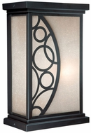 Vaxcel PO-OWD060NB Prosecco Craftsman Noble Bronze Finish 11.25 Tall Outdoor Lighting Wall Sconce
