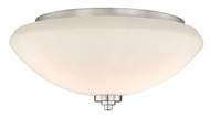 Vaxcel SA-CCU140SN Solna Satin Nickel Finish 14  Wide Flush Lighting