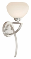 Vaxcel SA-VLU001SN Solna Satin Nickel 7.25  Wide Sconce Lighting