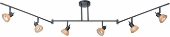 Vaxcel SP53566DB Spotlight Modern Dark Bronze Finish 12  Tall Halogen Track Light