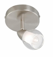 Vaxcel SP56512SN Tivoli Modern Satin Nickel Finish 4.75  Wide Halogen Ceiling Spotlight