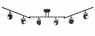 Vaxcel SP56666NB Pixie Contemporary Noble Bronze Finish 11.625  Tall Halogen Monorail Lighting
