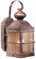 Vaxcel SR53125RZ Revere Traditional Royal Bronze Finish 8.25 Wide Exterior Smart Lighting Wall Light Sconce
