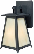 Vaxcel T0020 Prairieview Oil Rubbed Bronze Finish 15  Tall Exterior Wall Light Sconce