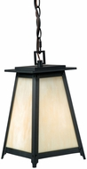 Vaxcel T0024 Prairieview Oil Rubbed Bronze Finish 13 Tall Exterior Mini Hanging Light
