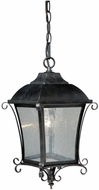 Vaxcel T0033 Sonnet Traditional Gold Stone Finish 8.75 Wide Outdoor Mini Hanging Pendant Lighting