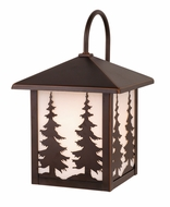 Vaxcel T0049 Yosemite Burnishe Bronze Finish 12.5  Tall Exterior Lamp Sconce