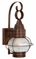 Vaxcel T0053 Chatham Nautical Burnished Bronze Finish 10.75 Wide LED Outdoor Wall Sconce Lighting