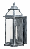 Vaxcel T0058 Lockport Traditional Weathered Black Finish 14.625 Tall Exterior Wall Lighting Sconce