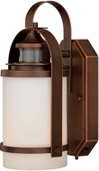 Vaxcel T0069 Weston Burnished Bronze Smart Lighting Exterior Wall Sconce Light
