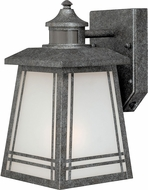 Vaxcel T0071 Otis Lava Stone Smart Lighting Exterior Wall Lamp