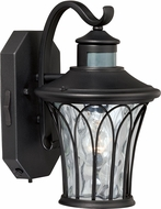 Vaxcel T0123 Abigail Traditional Textured Black Outdoor Wall Smart Lighting Light Fixture