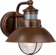 Vaxcel T0125 Harwich Retro Burnished Bronze Outdoor Wall Smart Lighting Lighting Sconce