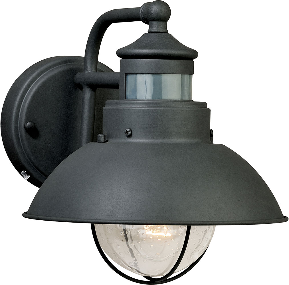 Vaxcel T0126 Harwich Vintage Textured Gray Exterior Smart Lighting ...