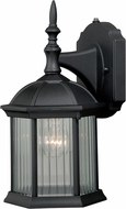 Vaxcel T0130 Kingston Textured Black Exterior Wall Light Sconce