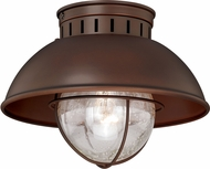 Vaxcel T0143 Harwich Vintage Burnished Bronze Outdoor Overhead Light Fixture