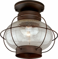 Vaxcel T0145 Chatham Vintage Burnished Bronze Outdoor Ceiling Lighting