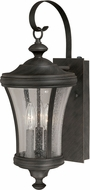 Vaxcel T0147 Hanover Traditional Brushed Iron Outdoor Wall Lamp