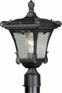 Vaxcel T0158 Castile Traditional Weathered Bronze Exterior Pole Lighting Fixture
