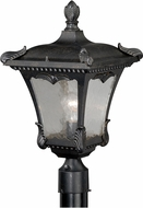 Vaxcel T0161 Castile Traditional Weathered Bronze Outdoor Post Lighting